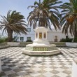 Square at Tarifa village — Stock Photo