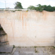 Quarry wall — Stock Photo