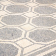White and black ancient mosaic — Stock Photo