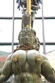 Great breasts statue — Stock Photo