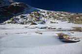 Montaña de hielo y nieve — Foto de Stock
