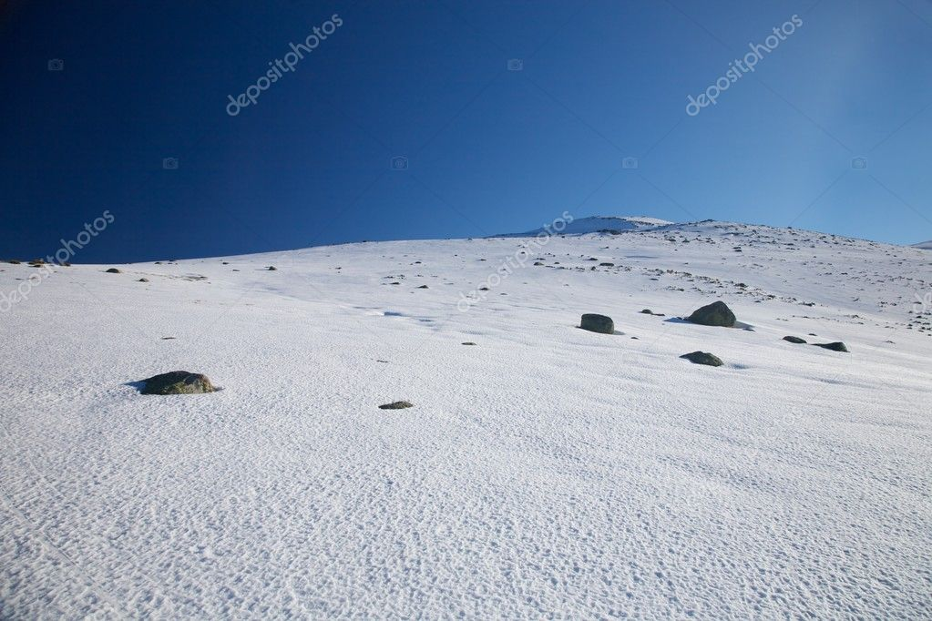 Mountain of Gredos at Avila in Castilla Spain — Stock Photo #6965384