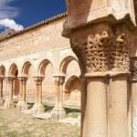 Ruins of San Juan cloister — Stock Photo #7028158
