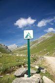 No camp sign — Stock Photo