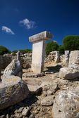 Uzun tarih öncesi taula — Stok fotoğraf