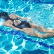 Back swimmer diving — Stock Photo #7278370