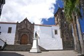 El Salvador church at La Palma — Stock Photo