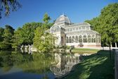 Retiro crystal palace — Stock Photo