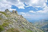 Rocky mountains at Gredos natural park — Stock Photo