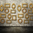 Vintage ornate frames — Stock Photo