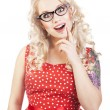 vrij pin-up girl — Stockfoto #7414461
