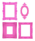 Pink frames — Stock Photo