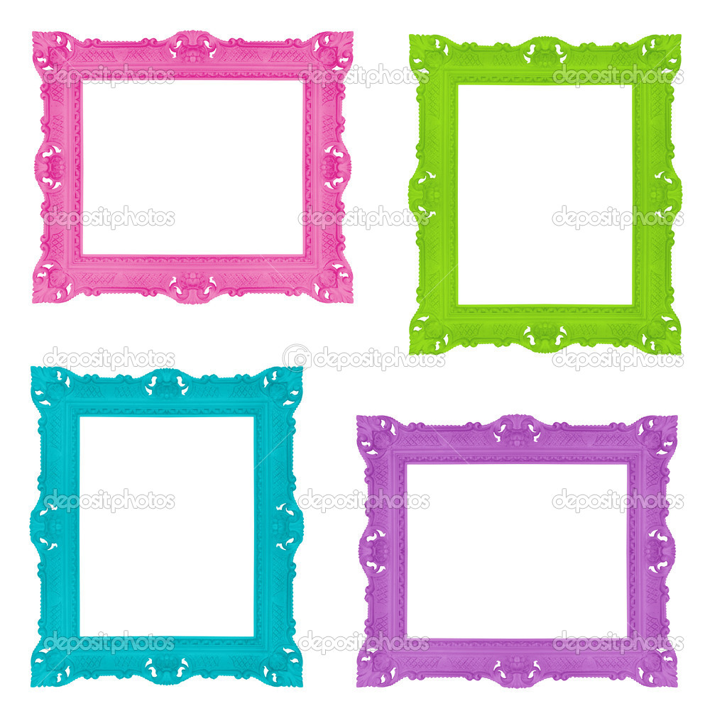 Colorful frames  Stock Photo #7414331