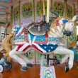 Merry-go-round horse — Stock Photo #7388779
