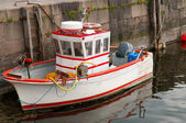 Cute small fishboat — Foto Stock