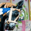Funfair horse — Stock Photo