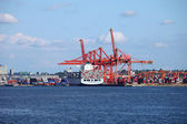 Port de vancouver bc canada. — Photo
