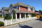 Residence in Richmond BC Canada. — Stock Photo