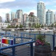 Stock Photo: Ferries terminal in Granville island Vancouver BC.
