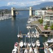 The Burrard bridge & False creek waterway, Canada. — Stock Photo #6851456