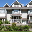 Stock Photo: Residences in Richmond BC Canada.