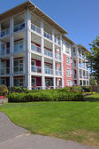 Retirement community in Richmond BC Canada. — Stock Photo