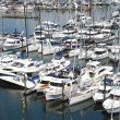 Stock Photo: Yachts & sailboats for sale in Granville island BC.