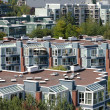 Condominiums & apartments, Vancouver BC Canada. — Stock Photo