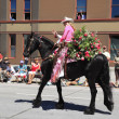 PORTLAND - JUNE 12: Rose Festival annual parade through downtown June 12, 2 - Photo