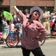PORTLAND - JUNE 12: Rose Festival annual parade through downtown June 12, 2 - Stock Photo