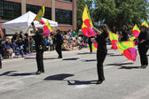 PORTLAND - JUNE 12: Rose Festival annual parade through downtown June 12, 2 — Photo