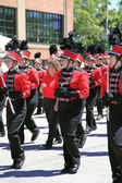 PORTLAND - JUNE 12: Rose Festival annual parade through downtown June 12, 2 — Stock fotografie