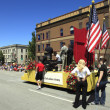 PORTLAND - JUNE 12: Rose Festival annual parade through downtown June 12, 2 - Стоковая фотография