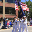 PORTLAND - JUNE 12: Rose Festival annual parade through downtown June 12, 2 — Stock Photo #7773386