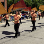 PORTLAND - JUNE 12: Rose Festival annual parade through downtown June 12, 2 — Stock Photo