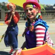 PORTLAND - JUNE 12: Rose Festival annual parade through downtown June 12, 2 - 图库照片