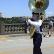 PORTLAND - JUNE 12: Rose Festival annual parade through downtown June 12, 2 - Foto Stock
