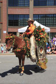 PORTLAND - JUNE 12: Rose Festival annual parade through downtown June 12, 2 — Foto Stock