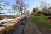 McLaughlin promenade, Oregon city OR. — 图库照片