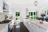 área de cocina y comedor — Foto de Stock