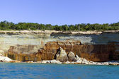 Upper Peninsula (Pictured Rocks) - Michigan, USA — Stock fotografie