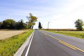 アメリカの田舎道 — ストック写真