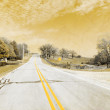 American Country Road - Stock fotografie
