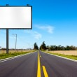 Billboard on Country Road — Stock Photo #7608242