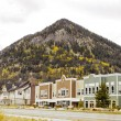 Small Town in Colorado — Stock Photo