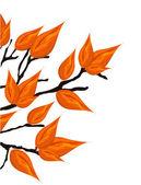 Autumnal brunch, vector illustration, — Stock Vector