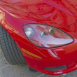 Detail of red car — Stock Photo #7636248