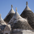 Rural trullo villa — Stock Photo