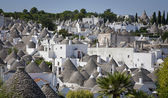 Old town Alberobello — Stock Photo