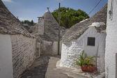 Alley Alberrobello Apulia — Stock Photo